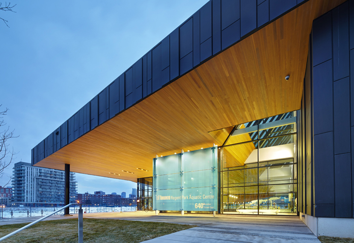 regent park aquatic centre by maclennan jaunkalns miller architects