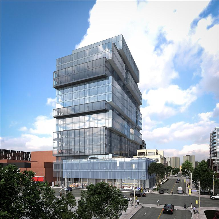 the globe and mail's proposed new office tower
