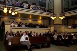 audiences at the architecture & design film festival