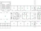 Ground Floor  1 entrance 2 laboratory 3 theatre 4 classroom 5 office 6 loading dock 7 mechanical 8 social area