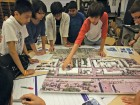The workshop culminates in designing a city block. Maximum City