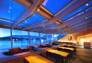 cactus club coal harbour lower dining terrace