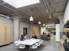 open space/kitchen area of dialog's edmonton office. photo by tom arban.