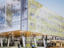 rendering of the winnipeg women and newborn hospital