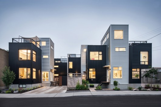 award of excellence winner the hintonburg six by colizza bruni architecture inc. photo by peter fritz.