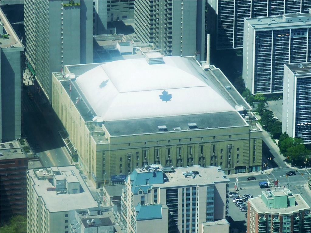 maple leaf gardens building now houses ryerson's mattamy athletic centre and loblaws