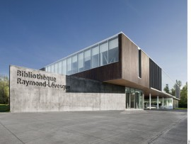 raymond-lvesque library by manon asselin + jodoin lamarre pratte architectes en consortium. photo by marc cramer.