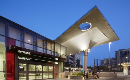 victoria park bus terminal replacement project, winner in the architectural merit category