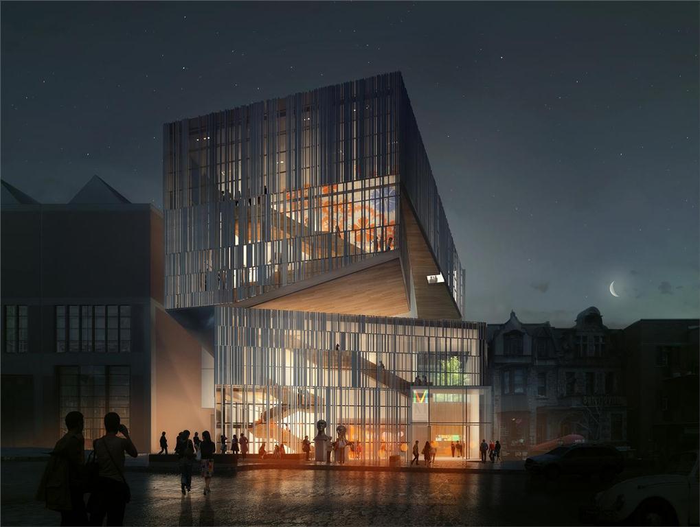 fifth pavilion - montreal museum of fine arts by manon asselin architecte + jodoin lamarre pratte architectes in consortium