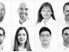 MacLennan Jaunkalns Miller Architects (MJMA). Top row, left to right: David Miller, Robert Allen, Viktors Jaunkalns, Olga Pushkar, Jeremy Campbell, Siri Ursin. Bottom row, left to right: Tarisha Dolyniuk, Luis Arredondo, Aida Vatany, Jason Wah, Jedidiah Gordon-Moran, Timothy Belanger.