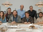 Peter Sampson Architecture Studio and Calnitsky Associates Architects. Left to right: Monica Hutton, Mathew Piller, Dirk Blouw, Ed Calnitsky, Peter Sampson, Bob Martin, Andrew Lewthwaite.