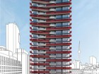architectsAlliance and II by IV are currently designing Smart House, a 25-storey micro-unit building at the bustling corner of University Avenue and Queen Street West in downtown Toronto.