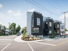 The six-unit complex adds a contemporary presence to a working-class neighbourhood at the edge of downtown Ottawa.