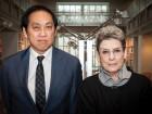 Bruce Kuwabara with Phyllis Lambert, Founding Director Emeritus of the CCA.