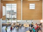 Designed by Hughes Condon Marler Architects, the recently opened UniverCity Childcare Centre is pursuing Living Building Challenge certification. Martin Tessler