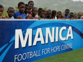 manica football for hope center in mozambique