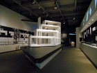 A large-scale model of Daniel Evan White's Mt Residence dominates the current retrospective at the Museum of Vancouver.  Daniel Evan White Studio