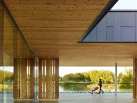 chinguacousy park redevelopment in brampton by maclennan jaunkalns miller architects ltd.