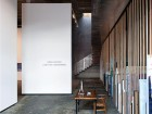A highly evocative blend of past and present defines the Monte Clark Gallery. Its pocked and pitted concrete floor is a remnant of its former industrial life, enhanced by a robust material palette of steel, concrete block and unfinished wood dowels. silentSama Architectural Photography