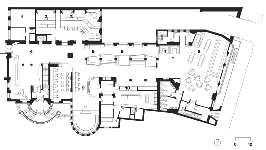 High design hostels canadian architect Room floor plan generator