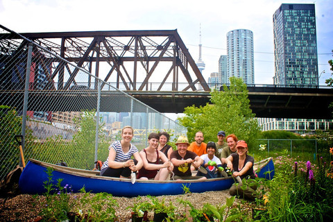 homegrown park rangers established pollinator-friendly canoe gardens in five city parks in 2013.