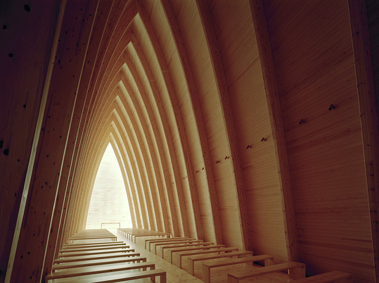 st. henry's ecumenical art chapel in turku, finland. photo by jussi tiainen.