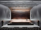The subdued quality of the auditorium encourages concentration. Maris Mezulis