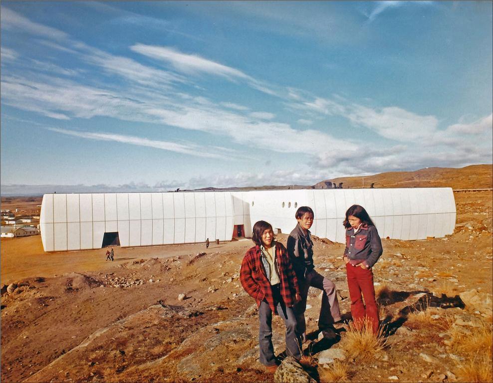 gordon robertson educational centre, papineau gerin-lajoie leblanc, 1973, iqaluit, nunavut, canada; courtesy guy gerin-lajoie.
