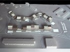 view of animated model showing housing proposal for iqaluit, arctic adaptations, 2014. image courtesy of latreille delage photography.