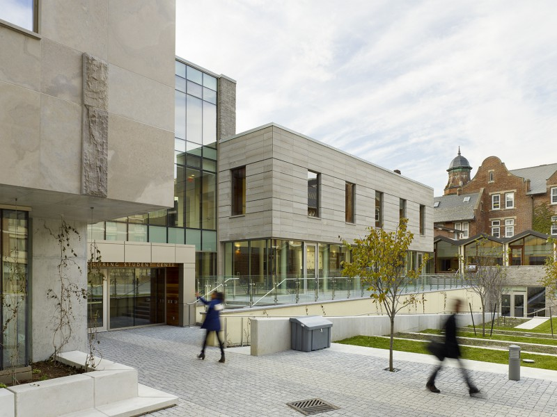 goldring student centre at victoria university/wymilwood restoration by moriyama & teshima architects, nominee in the 2014 pug awards.