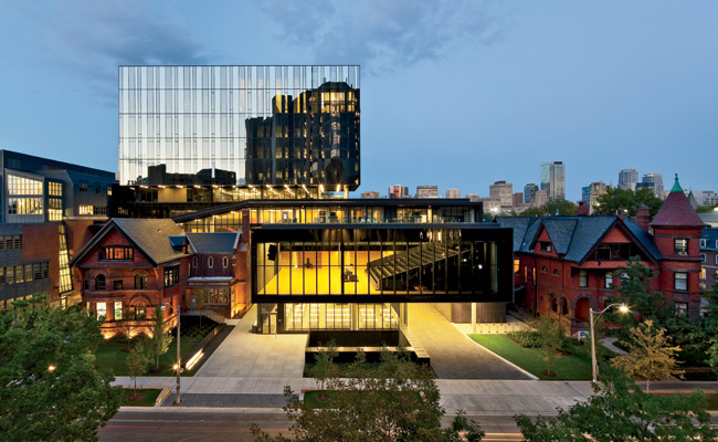 joseph l. rotman school of management at the university of toronto. photo by tom arban.