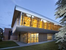 exterior of UBC okanagan fitness + wellness centre. photo by stephanie whiting.