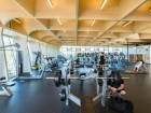 interior of UBC okanagan fitness + wellness centre. photo by don erhardt.