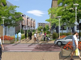 rendering of alexandra park revitalization plan