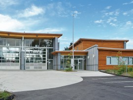 Omicron has cultivated specializations in several building types, including community facilities such as the Gleneagles Public Safety Building in the District of West Vancouver. Terry Guscott