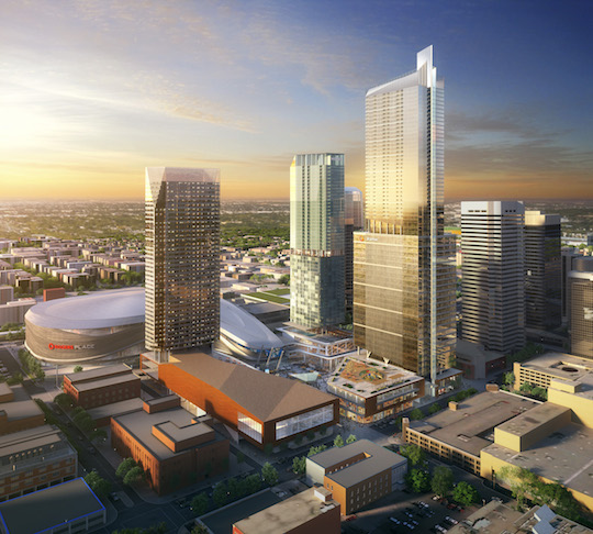 tallest tower for edmonton proposed by stantec