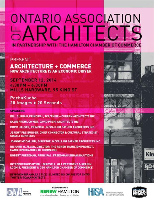 exploring architecture as an economic driver in hamilton's development