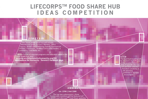 lifecorps food share hub ideas competition