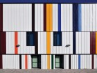 The Daniels Spectrum project in Toronto's Regent Park is emblematic of the multicultural neighbourhood context, referencing the polychromatic flag colours of the community's residents in the colourful striped elevations.