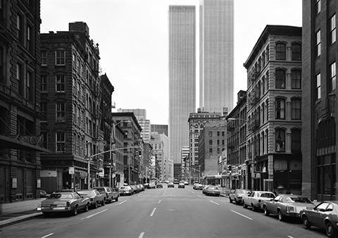 thomas struth. west broadway, new york, tribeca, 1978.  thomas struth.