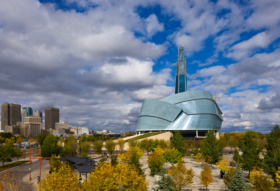 winner of the schreyer award in the 2014 canadian consulting engineering awards, the canadian museum for human rights in winnipeg involved structural engineers CH2M HILL