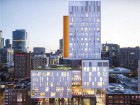 the church street development is comprised of an eight-storey podium with a tower