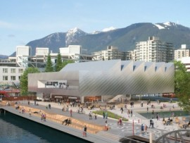 proposed presentation house gallery for north vancouver by patkau architects
