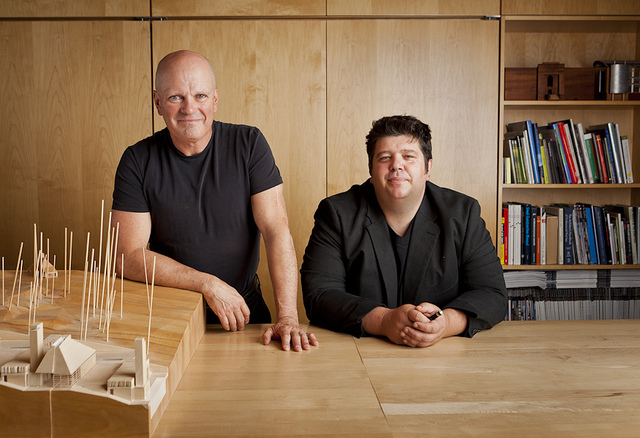 brian mackay-lyons and talbot sweetapple, principals of mackay-lyons sweetapple architects, recipient of the 2014 RAIC architectural firm award
