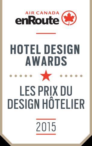 2015 air canada enroute hotel design awards