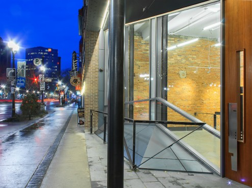 95 king street east studios and lofts by thier + curran architects. photo by kevin patrick robbins.