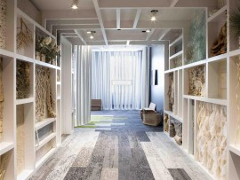 human nature carpet tiles explore the innate connection humans have to the earth, and take their cues from the visual, tactile textures found in the most elemental of floor coverings
