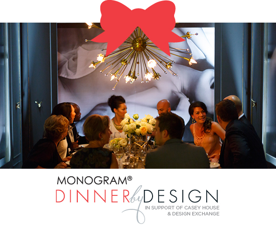 monogram dinner by design