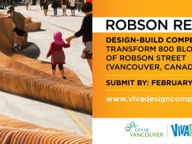 VIVA vancouver's robson redux design-build competition