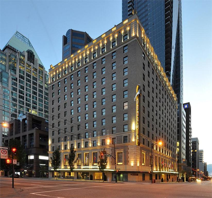 the hotel georgia in downtown vancouver won an award of honour in 2013.